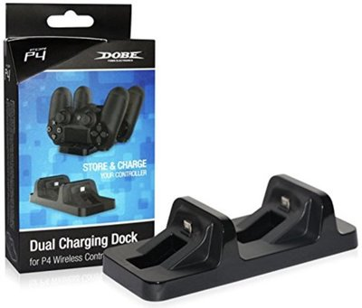 PS4 Dual Charging Dock – Playstation 4 Controller Oplader