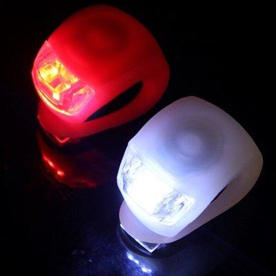 Fietslampjes LED - Set Wit en Rood - Voorlicht en Achterlicht - Inclusief Batterijen - Fietslicht - Lampjes Voor Fiets