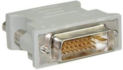 DVI 24+1 Male naar VGA Female Adapter - DVI naar VGA Verloopstekker - 24+1 Pin Male naar VGA